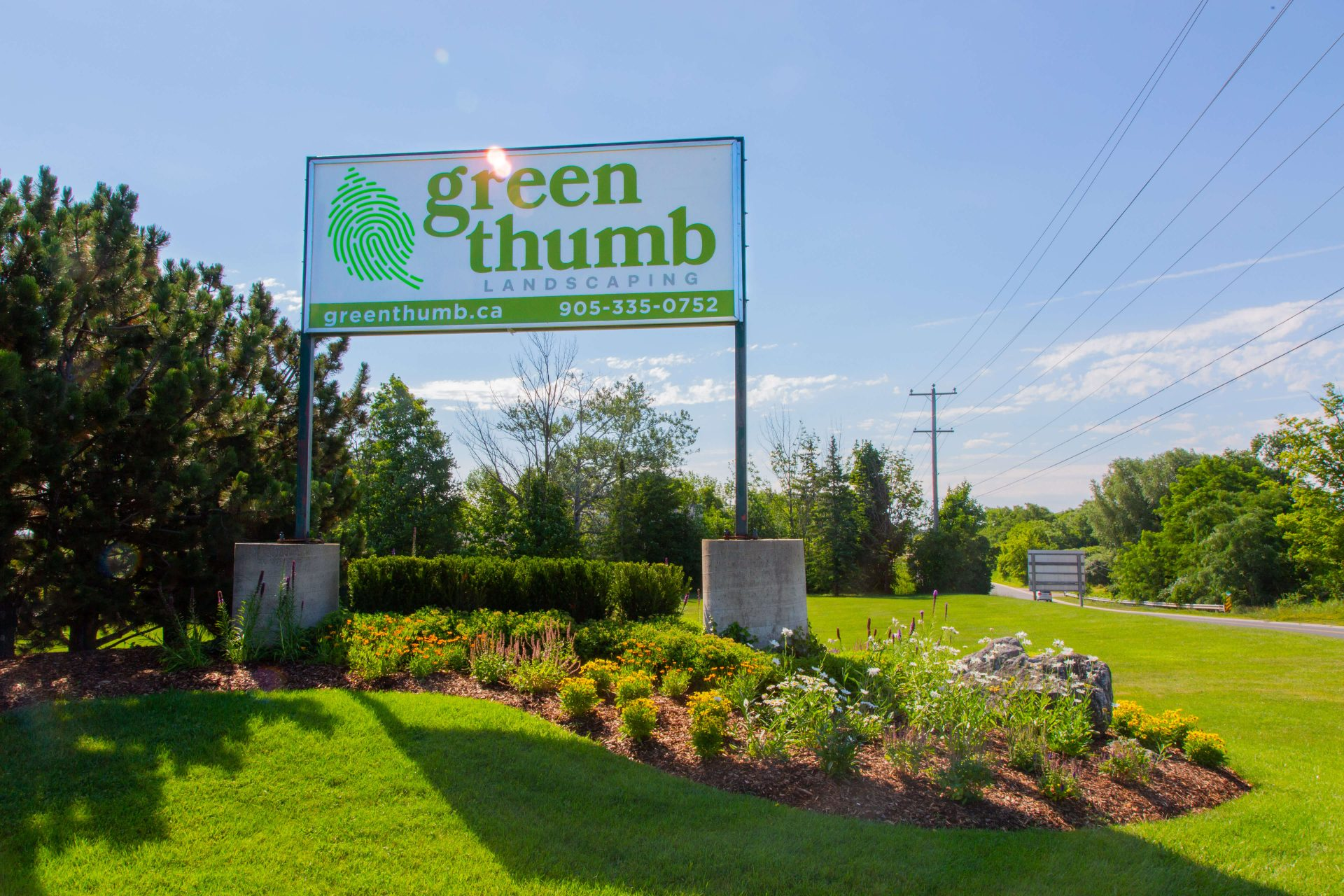 green thumb sign