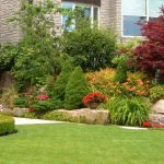 Landscaping Inspiration- beautifully maintained gardens and lawn