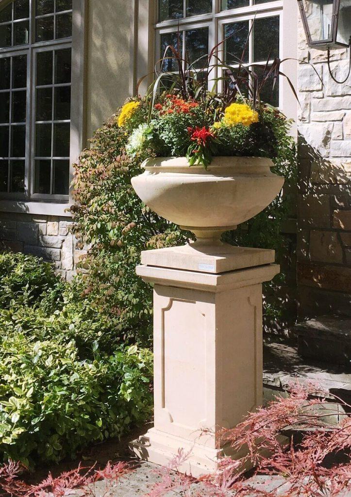 Gorgeous fall planter