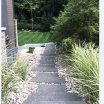 Top Landscaping Questions- stone stair pathway